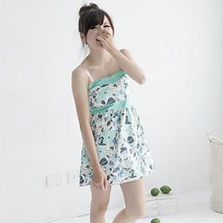 Picture of ZOO Strapless Floral Empire Dress 1022997277 (ZOO Dresses, Womens Dresses, Taiwan Dresses)