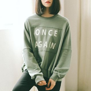 Lettering Pullover 1062775789