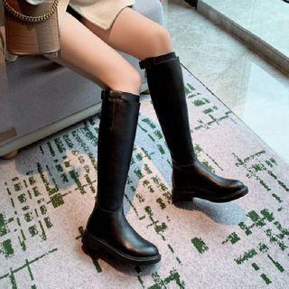 Flat Tall Boots