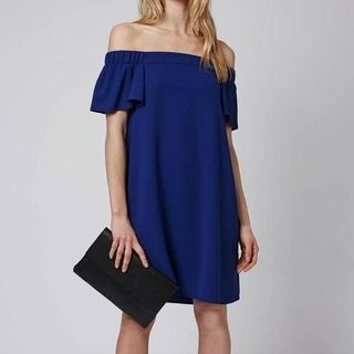 Short-Sleeve Off-Shoulder Maternity Dress 1050537900