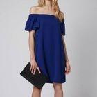 Short-Sleeve Off-Shoulder Maternity Dress 1596