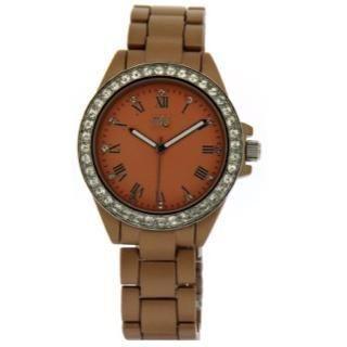 Aluminium-Effect Bracelet Wrist Watch Nude - One Size 1033837677