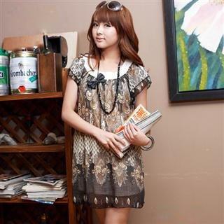 Buy doremi Patterned Chiffon Dress 1022596702