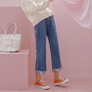 Straight Cut Jeans 1068208359