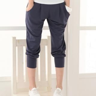 Buy Blue Is Cropped Sweatpants 1022913572