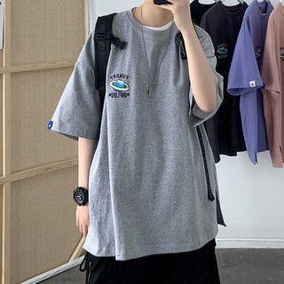 Short-sleeve | Embroider | T-Shirt