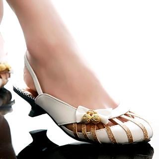 Buy Kvoll Bow Slingback Kitten-Heels 1022502787