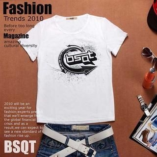 Picture of BSQT Print Tee 1023071254 (BSQT, Mens Tees, Taiwan)