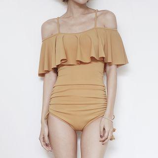Ruffle Trim Swimsuit 1064475470