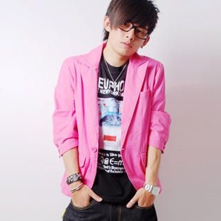 Picture of SLOWTOWN 3/4-Sleeve Blazer 1023009225 (SLOWTOWN, Mens Jackets, China)