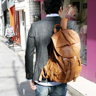 Buy Hwang Kum Style Faux Leather Backpacks 1022288679