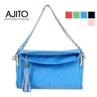 Buy AJITO Tassel Accent Shoulder Bag 1022688231