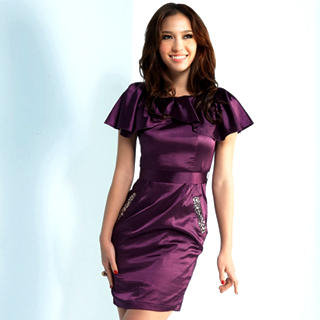 Buy Joanne Kitten Jeweled Ruffle Satin Party Dress 1022740406