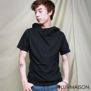 Buy LUVMAISON Short-Sleeve Hooded Pullover 1022737641