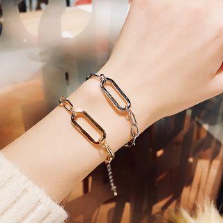Bracelet | Copper | Oval | Hoop