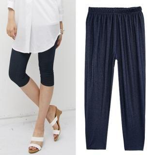 Buy HUE IT GIRL Shirred Calf-Length Leggings 1022859962
