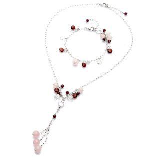 Stone of Beauty Necklace and Bracelet set