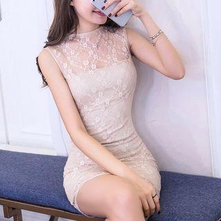 Sleeveless | Party | Dress | Lace