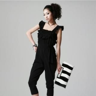 Buy FOXCiTY Ruffle-Front Jumpsuit 1022522842