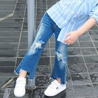 Kids Distressed Boot Cut Jeans от YesStyle.com INT