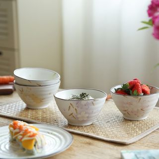Ceramic Floral Bowl / Plate 1057527819