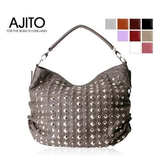 Studded Shoulder Bag 26