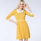 3/4-Sleeve Knit Dress 1596