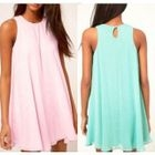 Frilled Sleeveless Chiffon Dress 1596