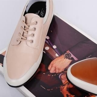 Picture of Belivus Lace-Up Sneakers 1023064201 (Sneakers, Belivus Shoes, Korea Shoes, Mens Shoes, Mens Sneakers)