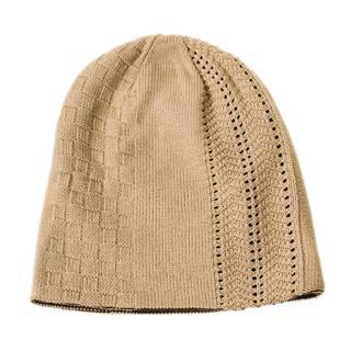 Buy ESCOBARIA Mixed Pattern Reversible Beanie Beige / Brown – One Size 1012563458