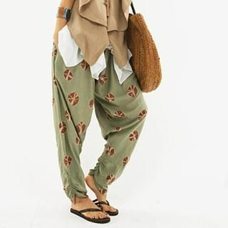 Picture of BBon-J Baggy Pants 1022995106 (Womens Baggy Pants, BBon-J Pants, South Korea Pants)
