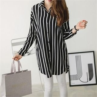 Long Striped Shirt 1061909028
