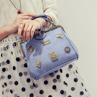 Image of Applique Shoulder Bag