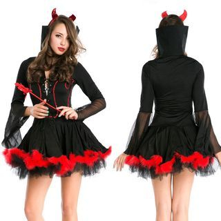Vampire Halloween Party Costume