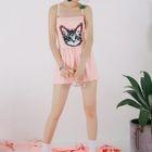 Cat Print Swimsuit 1596