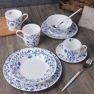 Floral Print Plate / Cup / Bowl 1061227100