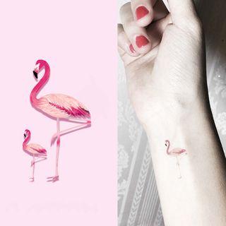 Flamingo Waterproof Temporary Tattoo