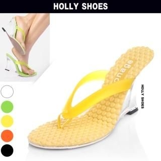 Buy Holly Shoes Wedge Thong Sandals 1022721753
