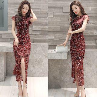 Romantica Printed Midi Dress