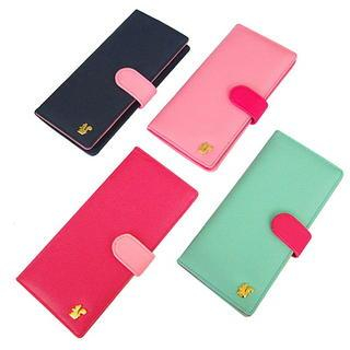 Color-Block Long Wallet 1038608896