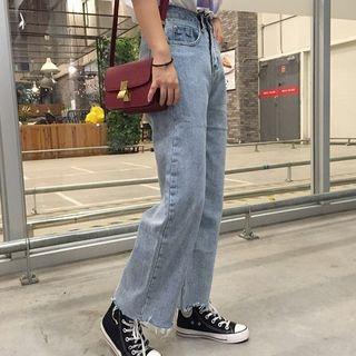 High Waist Wide Leg Jeans 1057866456