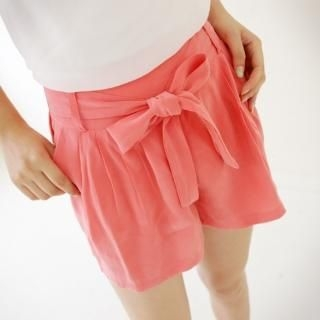 Buy Youareagirl Tie-Waist Wide-Leg Shorts 1023013373