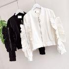 Ruffle Zip Jacket 1596