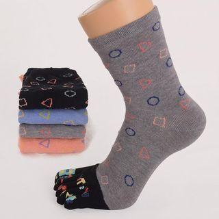 Print Toe Socks 1063299156