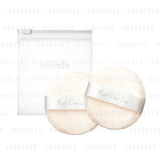Koh Gen Do - Make Up Puff (For Face Powder) 2 pcs 1064477043