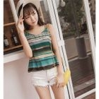 Double Strap Striped Top от YesStyle.com INT