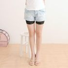 Lace-Trim Shorts 1596