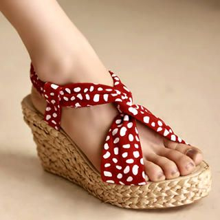 Buy Kvoll Dotted Wedges 1022741207
