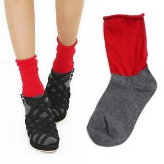 Picture of Jean Stone Color-Block Ankle Socks 1022523077 (Other Shoes, Jean Stone Shoes, Korea Shoes, Womens Shoes, Other Womens Shoes)