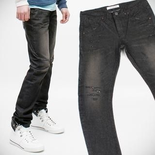 Buy Peeps Distressed Detail Washed Jeans 1022437466